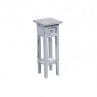 Stolik 25x25x67 cm Miloo Home Orkney biały