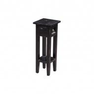 Stolik 25x25x67 cm Miloo Home Orkney czarny