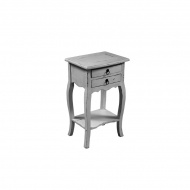 Stolik 40x31x68 cm Miloo Home Fiorella biały