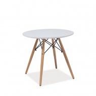 Stolik 47x60cm King Home biały