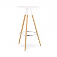 Stolik barowy Larry 60cm Kokoon Design biały