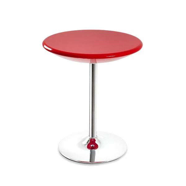 Stolik barowy UNIQUE Bistro red 3-04A-2