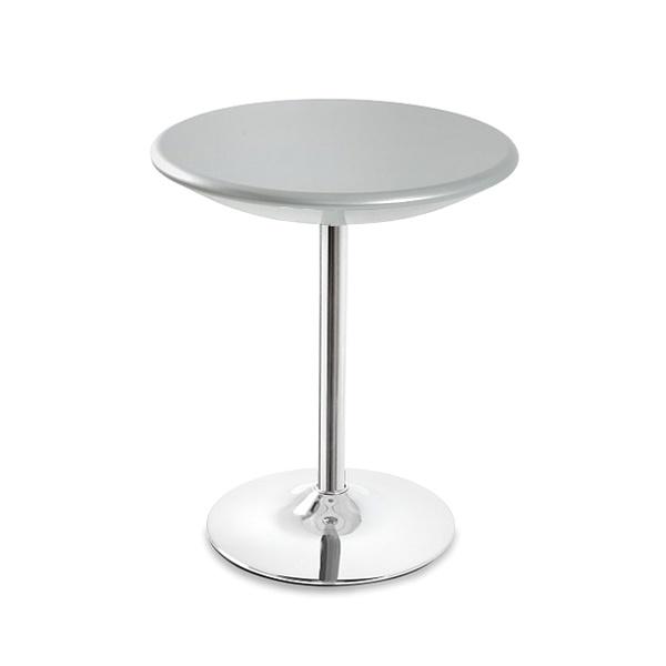 Stolik barowy UNIQUE Bistro silver 3-04A-6