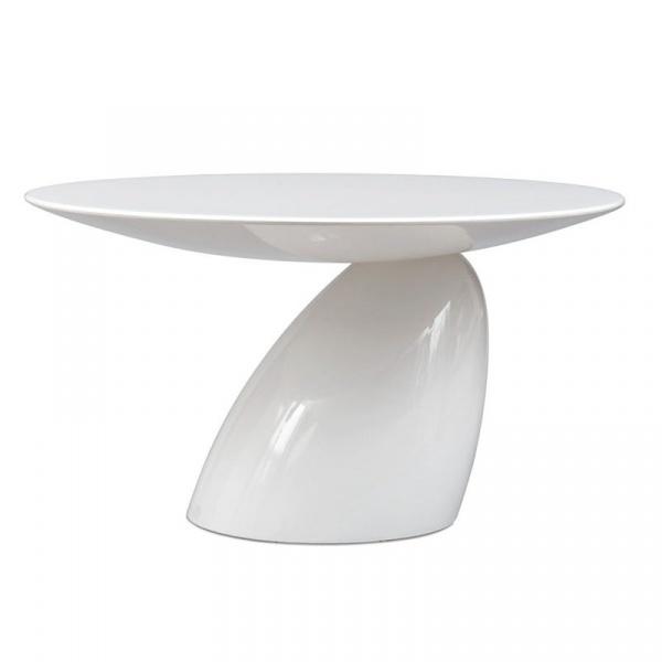 Stolik Grzybek biały DK-3783