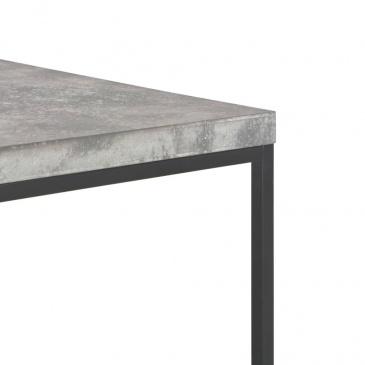 Stolik kawowy, 75 x 75 x 38 cm, beton