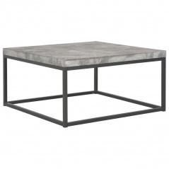 Stolik kawowy do salonu beton kwadratowy