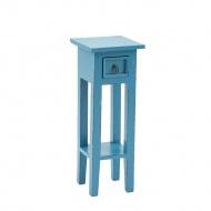 Stolik Orkney 67cm Miloo Home Vintage niebieski