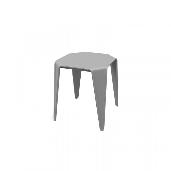 Stolik/stołek King bath Spot szary CT-395.SZARY