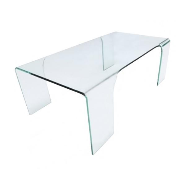 Stolik szklany King Home Gusto transparentny TO-SCB-043