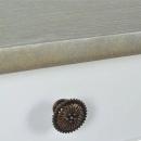 Stolik typu konsola z MDF, biały i szaro-brązowy