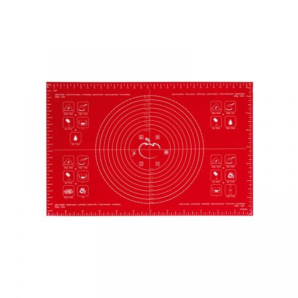 Stolnica silikonowa 40 x 60 cm Mastrad czerwona MA-F45210