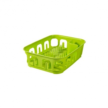 Suszarka do naczyń prostokątna (zielona) Essential