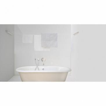 Suszarka łazienkowa rozciągana 22m Brabantia srebrno-czarna