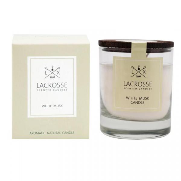 Świeca zapachowa White Musk Lacrosse ZVV040MBLC