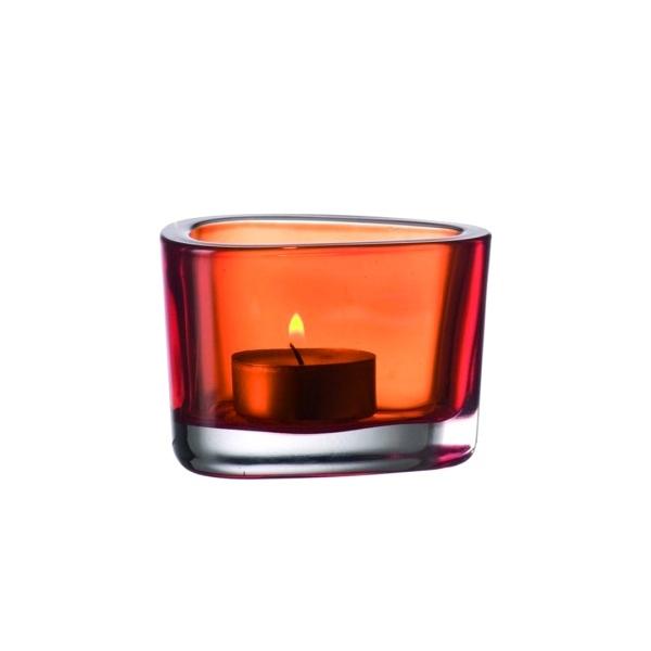 Świecznik pomarańczowy Leonardo Organic 036683