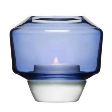 Świecznik Sagaform Shine niebieski