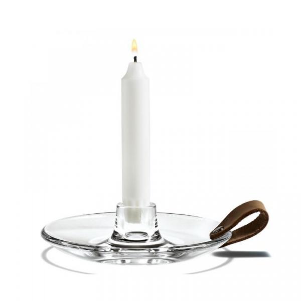 Świecznik szklany Holmegaard Design With Light Chamber 4343514