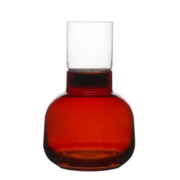 Świecznik ze schowkiem Christmas Sagaform czerwony SF-5015932