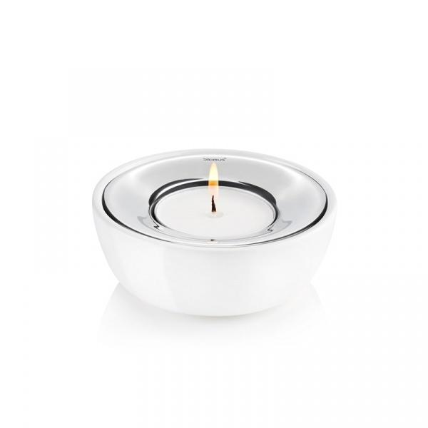 Świeczniki na tealight 2 szt. Blomus Fuoco białe 65276