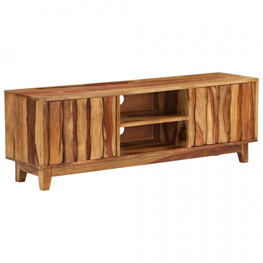 Szafka pod telewizor, lite drewno sheesham, 118 x 30 x 40 cm kod: V-246204 + Z NAMI NIE RYZYKUJESZ