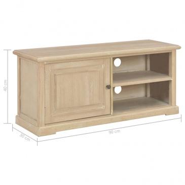 Szafka pod TV, 90x30x40 cm, drewniana