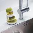 Szczotka do mycia naczyń z pompką Joseph Joseph szara 85005