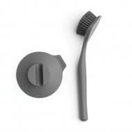 Szczotka do mycia naczyń z przyssawką Sink Side Brabantia ciemnoszara