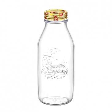 Szklana butelka na wodę 1L