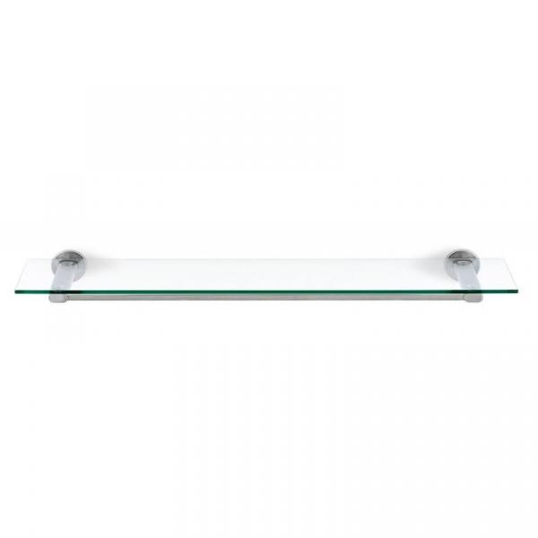 Szklana półka łazienkowa Blomus Areo stal matowa B68923
