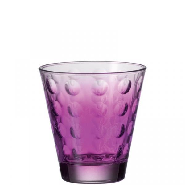 Szklanka 0,22 L fioletowa Optic L-049413