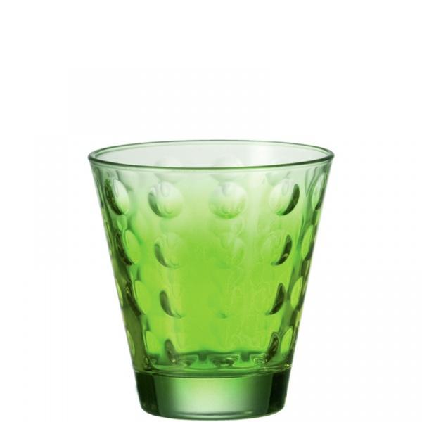 Szklanka 0,22 L zielona Leonardo Optic 049414
