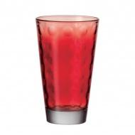 Szklanka 0,3 L Leonardo Optic czerwona