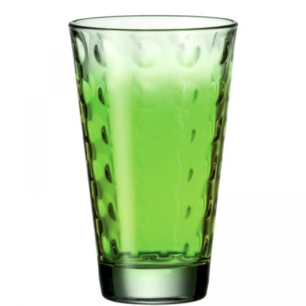 Szklanka 0,3 L zielona Leonardo Optic 049418