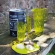 Szklanka 450 ml Koziol CRYSTAL L oliwkowa zieleń KZ-3544588