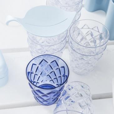 Szklanka na zimne napoje 200 ml Koziol CRYSTAL S niebieska KZ-3545636