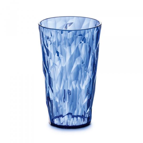 Szklanka na zimne napoje 450 ml Koziol CRYSTAL 2.0 niebieska KZ-3578636