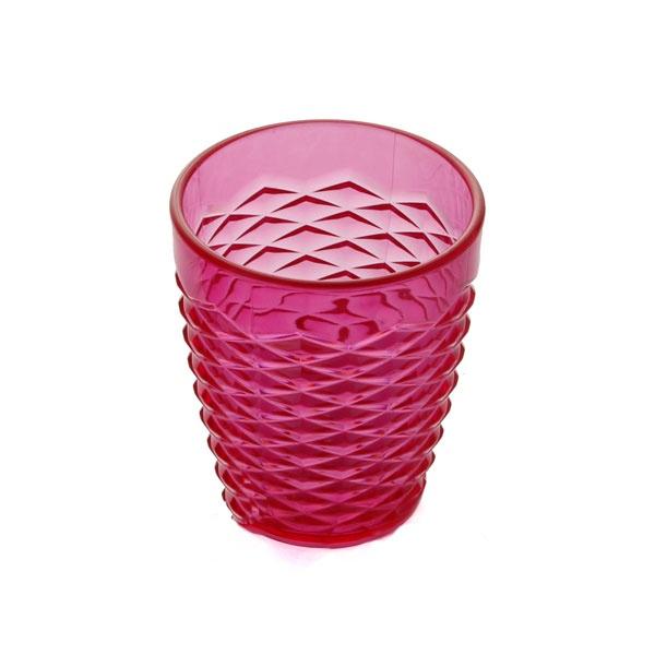 Szklanka Pink Glass Brandani różowy 81252