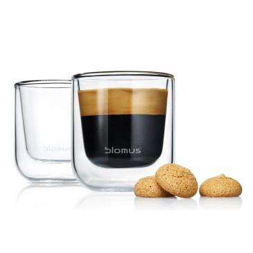 Szklanki do espresso 80ml Nero 2szt