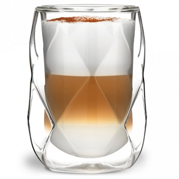 szklanki termiczne 2szt. na latte Geo Vialli Design