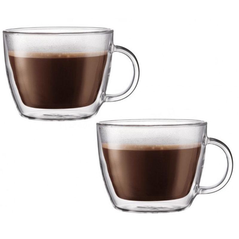 Szklanki Termiczne Do Latte 450ml Bodum Bistro 2 Szt 10608 10 Superwnetrze Pl
