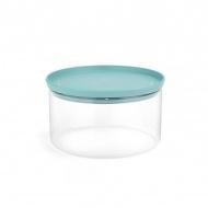 Szklany hermetyczny pojemnik kuchenny 2,5l Brabantia miętowy
