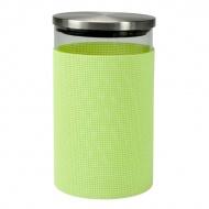 Szklany pojemnik do przechowywania Contento Storah M zielony