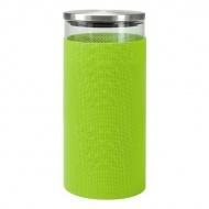 Szklany pojemnik do przechowywania Contento Storah L zielony