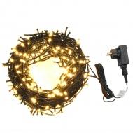 Sznur 400 lampek, IP44, 40 m, ciepłe białe LED