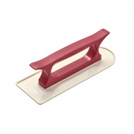 Szpachelka do wygładzania lukru 21x7x6 cm Lurch czerwona