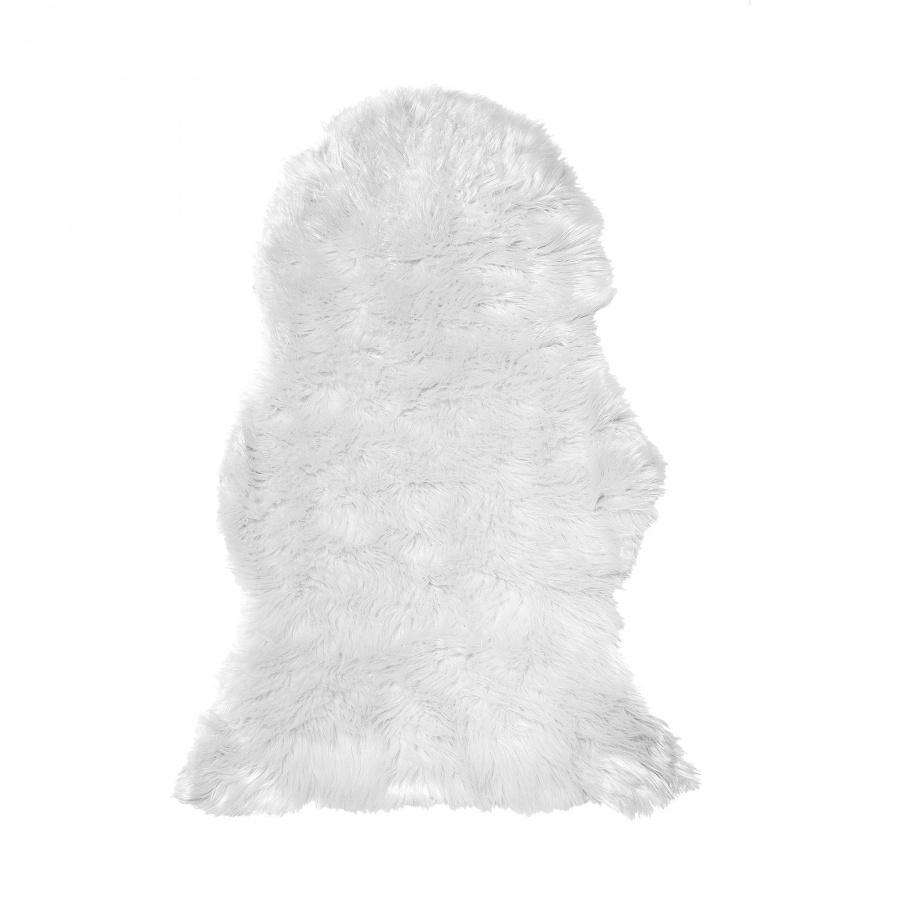b4ddcfaac7c70 Sztuczna skóra owcza biała Chciaro BLmeble - SuperWnetrze.pl