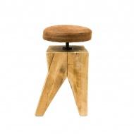 Taboret drewniany Gie El
