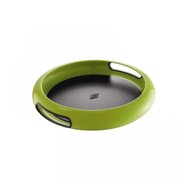Taca do serwowania Spacy 33 cm Wesco zielona W-322101-20