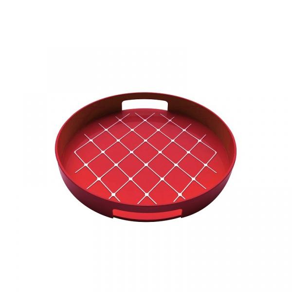 Taca okrągła Zak! Design czerwona 1647-0011