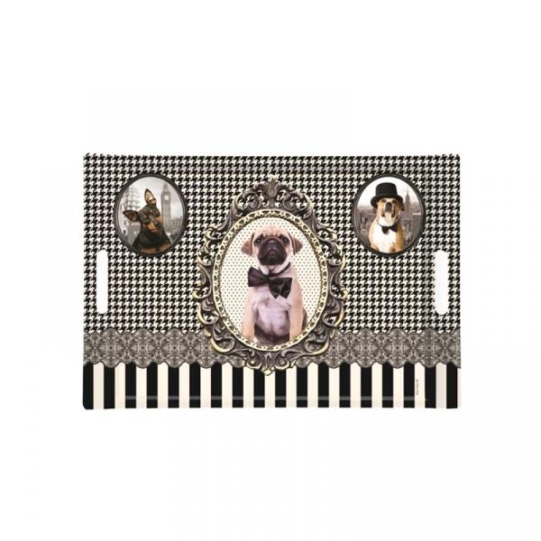Taca prostokątna Nuova R2S Happy Life 300 DOGS